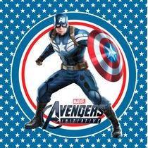 Kit Imprimible Capitan America Avengers Candy Bar Deco