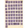 Estados Unidos, Resto De Coleccion De 352 Sellos En 6 Hojas