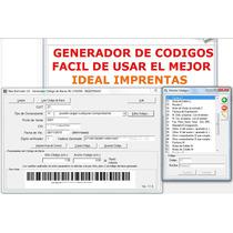 Generador De Código De Barras Afip Rg 1702 Unico Factura C
