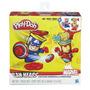 Play-doh Masa Marbel Canheads Iron Man Capitan America
