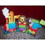 Tren De Animales-adorno De Torta- Souvenirs