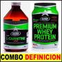Carnitina Liquida 500 Ml + Whey Protein Star Combo Quemador