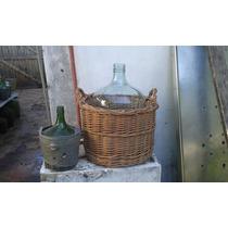 Damajuana Botellon Garrafa Vidrio 20 Litros N° 21