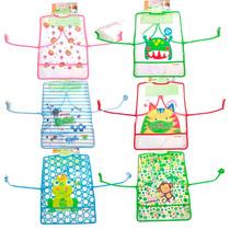 Babero Con Mangas Grande Plastico - Motivos 8925 - Childrens