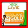 Xbox Live Gold 7 Días - Código Regíón Libre - Mejor Precio