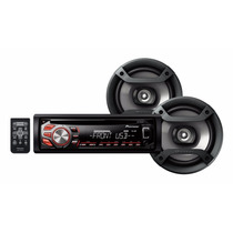 Autoestereo Pioneer Dxt 166ub Cd Usb 50x4 2 Parlantes Mp3