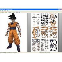 Figura De Goku Para Armar, Dragon Ball Z
