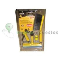 Kit Lava Autos Completo Con Accesorios - 4 Piezas
