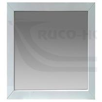 Espejo Marco 60x70 Madera Blanco Wengue Baño Living Decorac