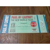 Entrada Paul Mc Cartney 1993