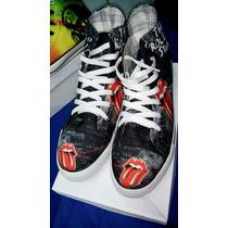 Zapatillas Botitas Rolling Stones !! Unisex