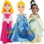 Muñecas Princesas De Disney Sirenita Cenicienta Tiana Aurora