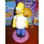 Homero Simpson En Porcelana Fria De 20cm