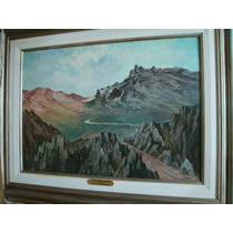 Juan Carlos Huergo, En Los Cerros, Oleo Sobre Cartón 50 X 70