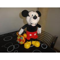 Mickey Mouse Cuenta Cuentos Y Canta Canciones,ed De Lujo!!!