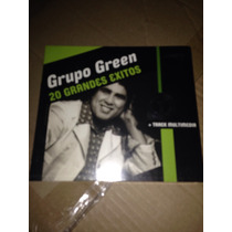 Grupo Green-20 Grandes Éxitos-cd Nuevo+cd Pibes Chorros De R