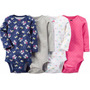 Pack De 4 Bodys Carters Nena Made In Usa