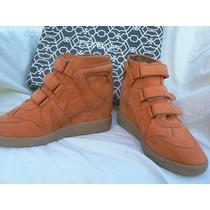 Zapato Zapatilla Taco Escondido Nuevo Paruolo Nº 39 Fortu13