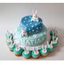 Torta, Cupcakes, Cookies Bautismo,primer Añito
