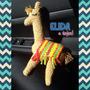 Llama A Crochet - Elida...a Tejer!!