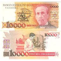 Brasil 10 Nuevos Cruzados En 10000 Cruzeiros!