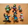 6 Figuras Goma Kfs Pato Donald Licencia De Walt Disney