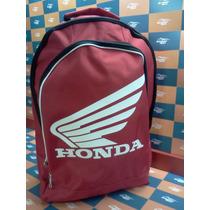 Mochila De Cordura Honda Del Pinar Motos!!!