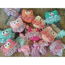 Llaveros Lechuzas Buhos Tejidos Crochet