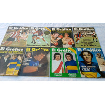 Lote Revista El Grafico 1972 Son 8 Revistas!!!!