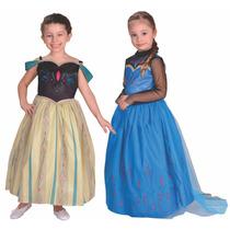 Disfraz Frozen Ana O Elsa Coronacion Origi. New Toys Jiujim