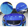 Vinilo Ploter Azul Cromado Moldeable Unico 1.52x1mt Auto 3m