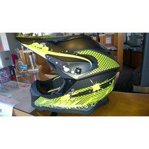 Casco Cross Nolan N53 Stain Italy Talle Xl (no Fox ,airoh)