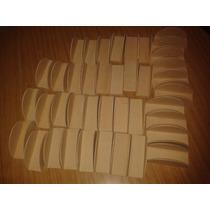 Porta Servilletero De Fibrofacil Semi Circulos X 10 Unidades