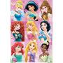 Princesa Rapunzel Ariel Bella Aurora Jazmine Blancanieves