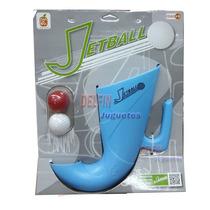 Jetball Jet Ball Juego Con Pelotas Aire Libre Mandarina