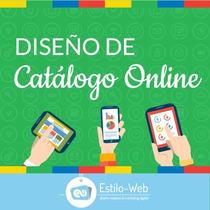 Diseño Web Pagina Catalogo Online Internet Interactivo Sitio