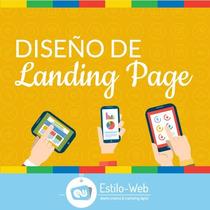 Diseño Web Pagina Aterrizaje Landing Page Basica Desarrollo