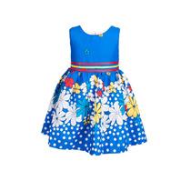 Vestido De Nena, Estampa Margaritas, Brishka, N-0005