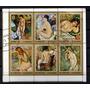 Ajman (e. Arabes) 1971,.bock 6 Sellos Desnudos Artisticos