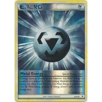 Cartas Pokemon Metal Energy Energia Especial Rever Foil Mint