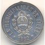 Medalla Municipalidad De Giles 1882 Plata Raraaaa