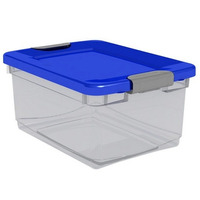 Organizador, Caja Organizadora Plastica, Hermetico De 32 Lts