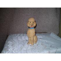 Muñeco Caniche De Goma Con Chifle Buen Estado $100