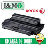 Recarga Toner Xerox 3550 11k 3435 10k 3824 8k + Chip