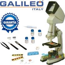 Microscopio Proyector Galileo Italy Tmpz 1200x C Muestras