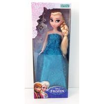 Muñeca Frozen Anna O Elsa Original Con Licencia Disney