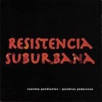 Resistencia Suburbana Cuentas Pendientes Palabras...cd