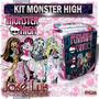 Mega Kit Imprimible 100% Editable Monster High Jose Luis