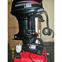 Motor Fuera De Borda Hidea 40 Elect Comando = Yamaha Mercury