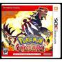 Pokemon Omega Ruby Nuevo Sellado - G10 Games
